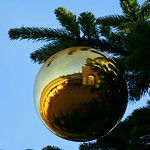 Christmas Bauble at Wimpole Hall thumbnail