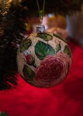 bombka 5 (Andelka_D) Tags: christmas decoration tree cozy diy decoupage winter art handmade santa retro vintage ornaments baubles ball