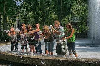 Foam in Amsterdam