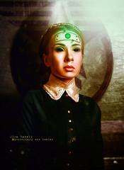 cyborg pride (olgavareli) Tags: cyborg olga vareli science fiction girl robot braids post apocalyptic trolled steampunk hybrid