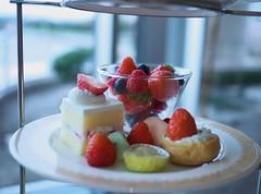 Strawberry Sweet Plate (Long Sleeper) Tags: sweets dessert food afternoontea strawberryafternoontea cake fruit strawberry strawberries raspberry raspberries blueberry blueberries hotel marineblue yokohamagrandintercontinentalhotel minatomirai yokohama kanagawa japan dmcgx1