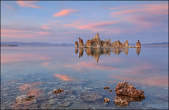 Mono Lake (jeanny mueller) Tags: usa southwest california monolake leevining tufa sea stone water sunset light landscape seascape