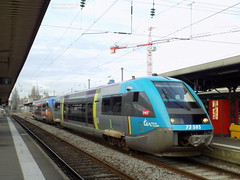 X73585 Pays de la Loire + X73796 Poitou-Charente (ChristopherSNCF56) Tags: gare de nantes x73500 pays la loire poitou charente train ter sncf