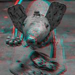 Le petit rat, véhicule de Ganesh, Katmandou, Népal thumbnail