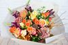 IMG_7563-3 (Garden Party Flowers) Tags: atumn fallbouquet florist flowers orangeandyellowbouquet vancouver