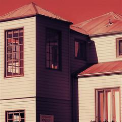 gold rush newbie (msdonnalee) Tags: architecture architektur shadow schatten sombra sombre ombre digitalfx colorfx artdigital