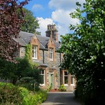 Maison victorienne, Strathpeffer, Ross and Cromarty, Ecosse, Royaume-Uni. thumbnail