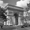 Arc de Triomphe (csobie) Tags: bronicasqa 80mmf28ps blackandwhite film france paris arcdetriomphe city europe epson v600 scan mediumformat 120 6x6 analog