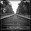 B&WTrainTracks (jimparrishpics) Tags: photochallenge photochallenge2017 1x1 blackwhite trevorcarpenterphotochallenge week48 bw blackandwhite square traintracks