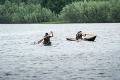 Oblas-26 (Polina K Petrenko) Tags: river boat khanty localpeople nation nationalsport nature siberia surgut tradition traditionalsport