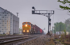 Dark (WillJordanPhoto) Tags: trains bnsf verona ill illinois chillicothe santa fe atchison topeka kansas atsf searchlight signal chicago galesburg