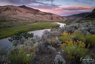 Peace Along the Colorado River - Eagle County, Colorado