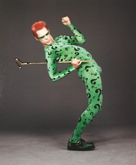 The Riddler (Guardian Screen Images) Tags: the riddler ed edward nigma jim carey carrey supervillain super villain riddle question mark questions marks spandex lycra tight tights dc comic comics book books batman forever movie film 1995