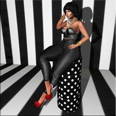 Fashion Advisory# 149 High Contrast (Fashion Advisory) Tags: pixicat dura secondlife blogging blogger kccouture ryca