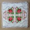 Sleep on Roses Pillow Quilt Combo (A Stitch a Half) Tags: astitchahalfcom annemarieleroux machineembroidery quilt ringpillow weddingpillow rosesembroidery rosespillowquilt