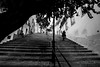 Alfama, Lisboa (Juan R. Ruiz) Tags: alfama lisboa lisbon portugal europa europe canon canoneos60d canoneos eos60d 60d bw stairways stairs escaleras blancoynegro blackwhite bn town
