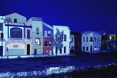 La Boca neighborhood (mockup) (Anselmo Portes) Tags: argentina buenosaires bocajuniors museu boca laboca blue night nikond60 nikon maquete mockup neighborhood bairro