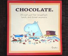 For all Chocoholics - Happy Saturday! (Bennilover) Tags: calendars boynton sandraboynton calendar november chocolate cake cookies candy pie