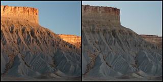 South Caineville Mesa diptych