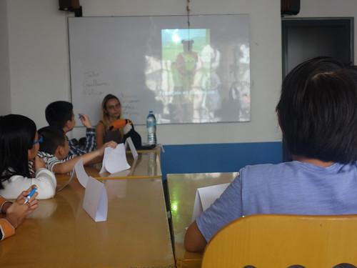 Ainsi que le reportage des polyglottes de l'école Paul Bert à Clermont Ferrand.