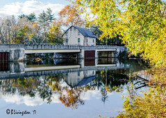 Asbury Mill & Reflection (Bruce Livingston) Tags: asbury nj newjersey autumncolors reflections mill asburymill explore