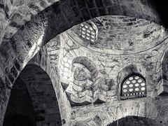 20171028-297 (sulamith.sallmann) Tags: altstadt bw chiesadisancataldo innenarchitektur italia italien italy kalsa kirche palermo schwarzweis sizilien stein stone sw it sulamithsallmann kuppel