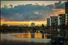 Westhafen, Frankfurt/Main at dawn (RalfK61) Tags: westhafen frankfurt 2017 westhafentower kraftwerk main november dämmerung 11 blauestunde
