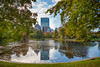 """A1008613 (sswee38823) Tags: tree trees park boston bostonma bostonpublicgardens bostonpublicgarden city cityscape water lagoon building buildingcomplex skyline sky wideangle newengland photography photograph photo seansweeney seansweeneyphotographer rangefinder fall sunday leica leicam leicacamera m10 leicam10 leicacameraagleicam10 landscape lateafternoon 21 21mm """"superelmarm 13421 asph"""""""