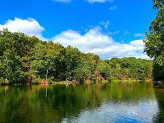 Rose Lake (#KPbIM) Tags: 2017 september fall hiking trip travel outdoors ohio camping hocking hills creek lake rose colors buckeye trail queer reflection water