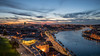 Porto Sunset (Fret Spider) Tags: evening sonya7rii sonya7ii honeymoon vacation relax unesco site landmark availablelight church monastery fort castle medieval history cloud sky canonef24mmf14liiusm portugal porto lisbon lisboa
