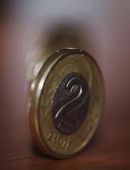 2 PLN (stempel*) Tags: pentax k30 gambezia 2pln coin moneta polskie złote dwa macro makro polska poland polen polonia money