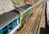 50007 - Dawlish 21 July 1990 (Rail and Landscapes) Tags: class50 50007 siredwardelgar dawlish
