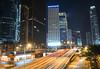 Over & Out (JMurphyphotography) Tags: hongkong hk nikon nikond610 nikon2470mmf28 nighttime longexposure tripod travel neonlights neon lighttrails lights street cars city urban buildings blue orange red green yellow asia 2017