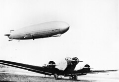 henry cord meyer image (San Diego Air & Space Museum Archives) Tags: aviation aircraft airship dirigible lighterthanair lta zeppelin deutscheluftschiffahrtsaktiengesellschaft delag deutschezeppelinreederei dzr dlz127 luftschiffbauzeppelin zeppelinlz127 lz127 lz127grafzeppelin grafzeppelin luftschiff luftschifflz127 junkers junkersju52 ju52 tanteju