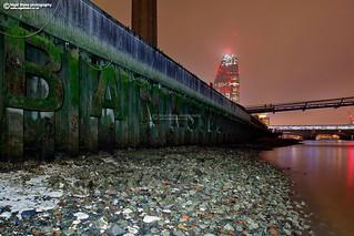 Bankside, The southbank by Tate Modern, London