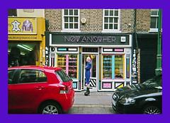 Brick Lane, Londres (nogardL) Tags: queer lgbtqi acab street purple blue london bricklane diy fashion 35mm argentic nikon film analogue