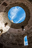 Keyhole (chris.regg) Tags: vestibule split croatia architecture old travel sky hole ancient romans ruin