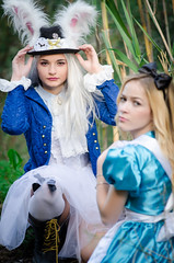 alice in wonderland (Hugo Miguel Peralta) Tags: alice wonderland mikon 80200 nikon d7000 cosplay fantasia movie