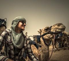 Just a man and his camel. (rickweddle1) Tags: nikon animal camel desert nikonphotography portrait sahara photography travelphotography morocco travel