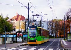 Moderus Beta MF02AC #432 (dorian.kowalski) Tags: moderus beta mf02ac 432 mostśwrocha most tramwaj tram strassenbahn bimba poznań mpkpoznań linia23 linie23