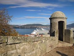 Vigo, Spain - IMG_8421 (Captain Martini) Tags: cruise cruising cruiseships royalcaribbean navigatoroftheseas vigo spain galicia castrofortress sansebastianfortress