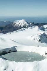 Tongariro National Park - New Zealand (Borja Iciz) Tags: nz travel landscape new zealand mountain snow volcano tongariro explore pacific oceania