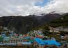 Namche Bazar  2 oct _01_mediu (Valentin Groza) Tags: himalaya nepal everest base camp trek trail namche bazar hinku himal ri kongde landscape mountain