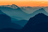 Distant Layers (One_Penny) Tags: dolomiten italy dolomites hiking landscape mountains nature outdoor photography canon6d layers sunrise clouds zoom tele early morning glow sun cortinadampezzo rifugiolagazuoi view peak summit shapes colors colorful light mountainscape canonef70200mmf28lisiiusm