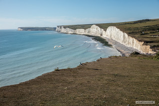 View westwards from near Birling Gap, East Sussex.