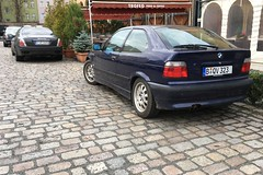 BMW 323 ti Compact E36 I 1999 (Transaxle (alias Toprope)) Tags: berlin classic cars meilenwerk auto autos antique amazing beauty bella beautiful bellamacchina car coches coche classics carros carro clasico clasicos design exotic historic iconic klassik kraftwagen kraftfahrzeuge legendary macchina motor macchine motorklassik power powerful unique retro rare soul styling toprope voiture voitures vintage veteran veterans vehicle vehicles kool koool kars cool bmw bavarianmotorworks