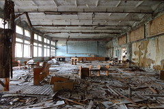 School 3 (scrappy nw) Tags: abandoned scrappynw scrappy derelict decay forgotten canon canon750d chernobyl chernobyldisaster pripyat urbex ue urbanexploration urbanexploring ukraine school highschool education