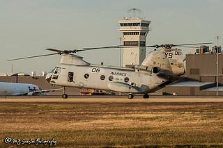 155301 USMC | Boeing Vertol CH-46E Sea Knight | Memphis International Airport