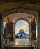 Daily life in Jerusalem - Gate of Heaven and the Garden of the Earth (TeamPalestina) Tags: freepalestine palestinian domeoftherock sunrise sweet beautiful heritage photographer تصويري palestine alaqsa amazing jerusalem occupation blockade hope architecture goldendome oldcityjerusalem landscapecaptures