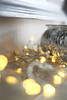 13997 (chloewilkinson2) Tags: christmas glitter lights decorations bokeh 50mm festive home interior detail snowflake red silver gold